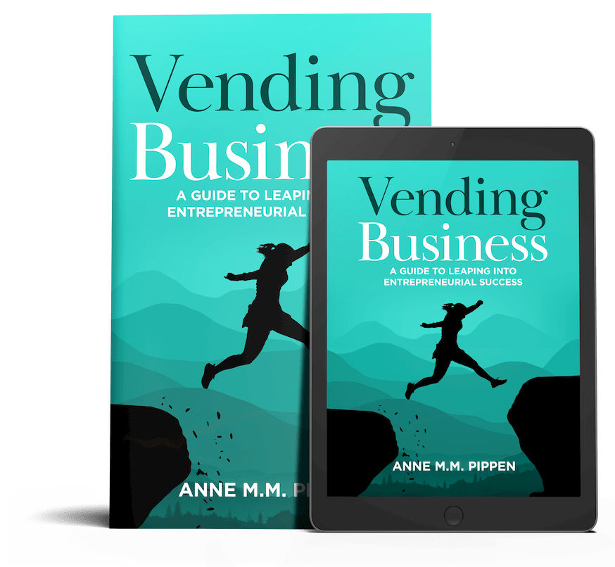 Vending Business Book Cover art for Kindle and Book Cover